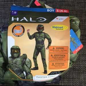 Costume Halo boy size 4-6 new